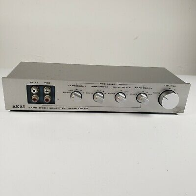 Akai DS-5 Tape Deck Selector Tape Switch Silver - Vintage
