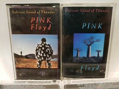 Pink Floyd – Delicate Sound Of Thunder - 2 x CASSETTE TAPES - Psych Rock - 1988
