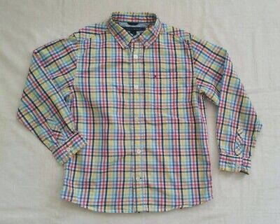 Boys Smart Tommy Hilfiger Long Sleeve Shirt 7 Years