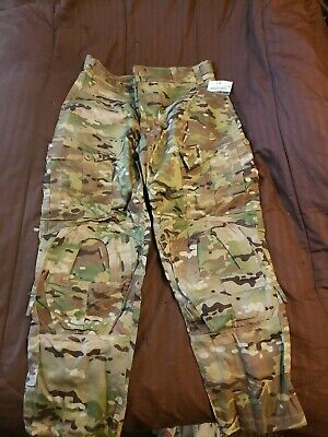 """Multicam New Army Combat Pants Medium Short With """"No Knee Pads"""""""