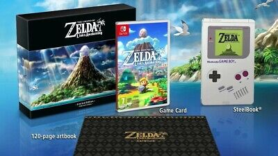 The Legend of Zelda Link's Awakening Nintendo Switch LIMITED EDITION Brand New
