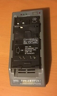 Sima PowerMax SPM7 Auto Select camera Camcorder Battery Discharger Reconditioner