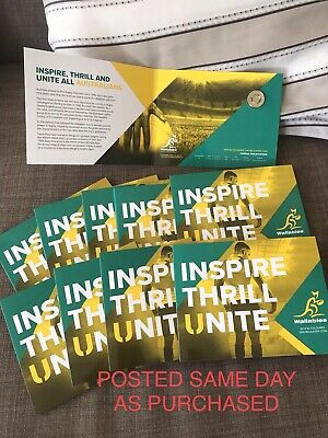 2019 Wallabies Rugby World Cup $2 Coin Uncirculated In RAM Folder POST SAME DAY