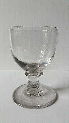 Rare 18th century Georgian, George 111 Glass Rummer in excellent condition