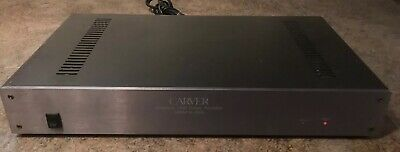 Carver M-200T Magnetic Field power amplifier Works Great