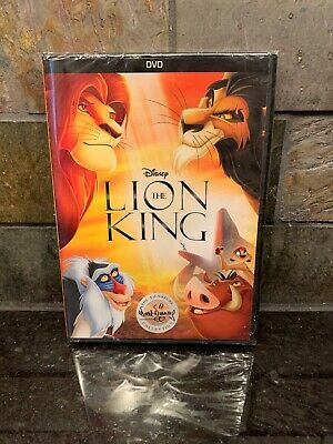 The Lion King The Walt Disney Signature Collection DVD 1994 NEW Ships Fast