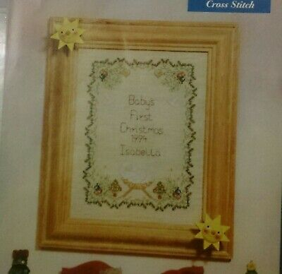 "~::~ ""Baby's First Christmas"" ~::~ Counted  Cross Stitch Chart ~::~"