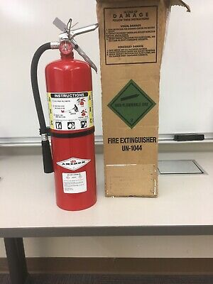 Amerex B456 10 lb ABC Multi-Purpose Fire Extinguisher, 4A:80B:C