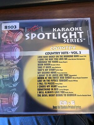 Sound Choice Karaoke Cdg Country Hits 8103