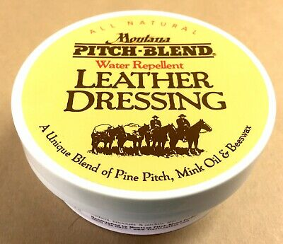 Montana Pitch Blend Leather Boot Dressing Conditioner preservative All Natural