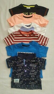 Beautiful selection of Baby Boy short Sleeve T-shirt clothe bundle 0-3m