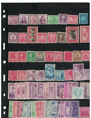 Nice Selection Of 124 MNH. United States Stamps.   #02 US124mnh