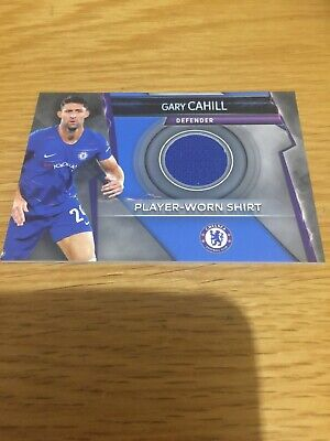 Match Attax Ultimate 2018/19 Player-Worn Shirt Card Gary Cahill Chelsea