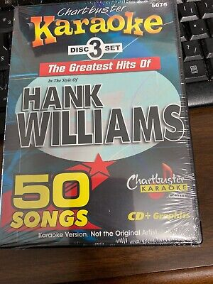 Chartbuster Hank Williams Karaoke Cdg 5075