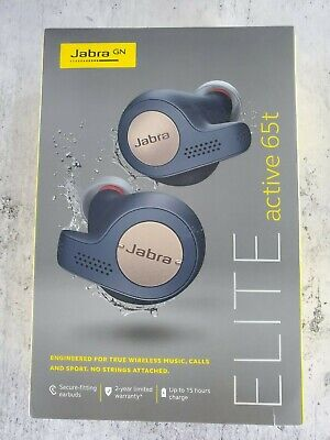 Jabra Elite Active 65t True Wireless Earbuds - Copper blue