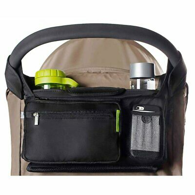 Ethan & Emma Baby Stroller Organizer with Cup Holders - Baby Shower Gift - Secur