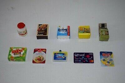 10 x Coles Little Shop 2 Mini Collectables