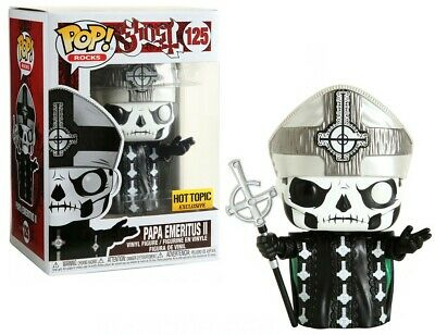 "FUNKO POP""PAPA EMERITUS II""Ghost Rocks Metal HT EXCUSIVE #125"