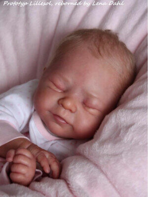 Reborn doll kit limited edition long sold out. With COA. Makes a gorgeous reborn