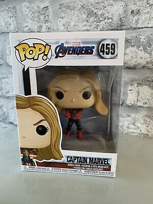 Captain Marvel Funko Pop Vinyl Avengers: Endgame 459 BNIB