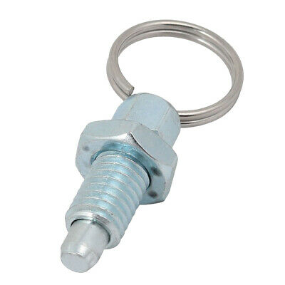 1x Index Plunger Ring-pull Nut Spring Loaded Retracted Pin M6/M8/M10/M12/M16