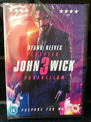John Wick: Chapter 3 - Parabellum [2019] (DVD) Keanu Reeves, Halle Berry