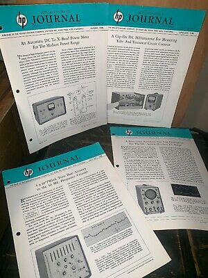 Hewlett Packard Journal Technical Information From The hp Laboratories! 4 Issues