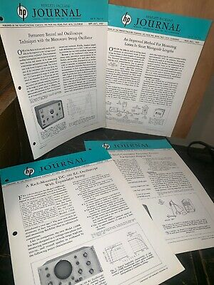 Hewlett Packard Journal Technical Information From The Laboratories! 1957 July