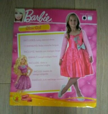 Barbie Glam Girl Costume with Sparkle Lace overlay & sequin trim