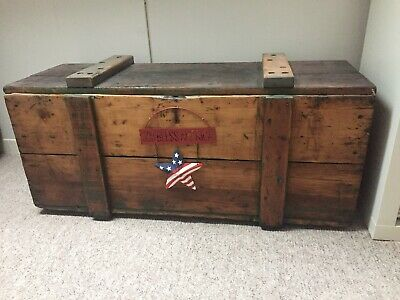 Old Wooden Box,Wooden Blanket TRUNK, Coffee TABLE, Vintage BOX, Storage