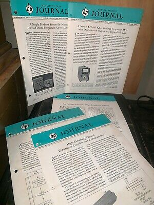 Hewlett Packard Journal Technical Information From The Laboratories! 5 Issues