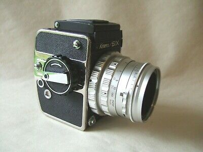 MEDIUM FORMAT KOWA SIX + 85mm f2.8  (1968), IN EXCEPTIONALLY NICE CONDITION