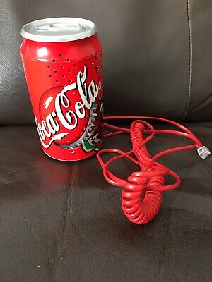 Coca Cola Drink Can Landline Telephone