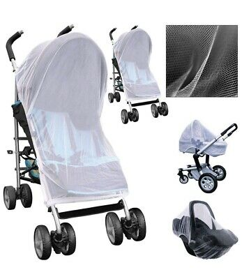 Clippersafe Stroller Pushchair Pram Mosquito Fly Insect Net Mesh Buggy Cover