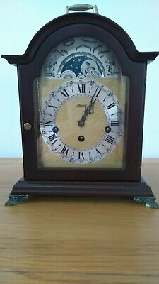 Franz Hermle Bracket / Mantel Clock With Moon Phase