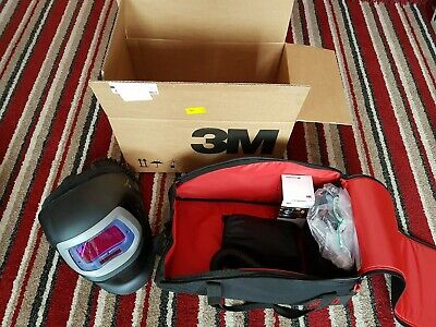 speedglas 9100 fx-air with adflow 9100adf air fed mains welding mask new in box
