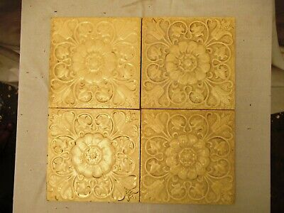 Antique Tile Minton'S China Works Stock On Trent England Porcelain Collectibles*