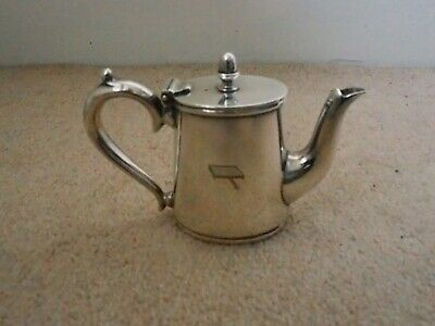 Vintage silver plated Mappin and Webb 1/4 pint lidded water jug