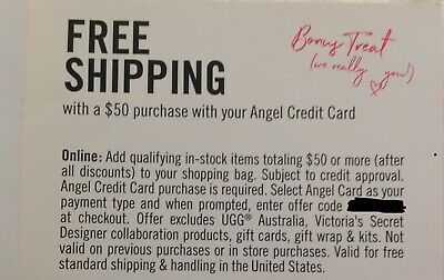 Victoria Secret Coupon Shipping