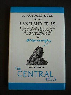 A Pictorial Guide to the Lakeland Fells, Book 3, The Central Fells, A.Wainwright