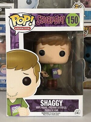 Funko POP! Shaggy #150 Scooby-Doo Animation ORIGINAL VAULTED AUTHENTIC! Scooby