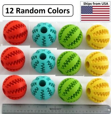 Toy Ball 'Insert Treats', Chase & Play for Dog & Cats, Large, Wholesale 12 Count