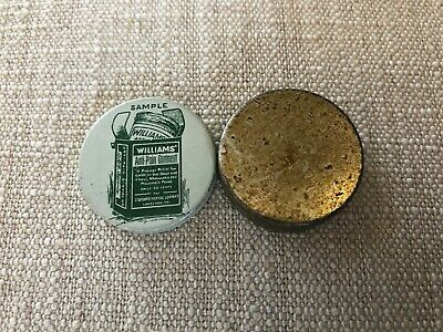 Williams Anti Pain Ointment Sample size tin mfg by Standard Medical Lansford PA