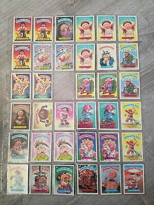 Vintage Garbage Pail Kids Lot 228 cards. 1980s fantastic condition. See photos