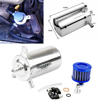 Breather Filter Cylinder Automobile Racing Engine Catch Reservoir Eco-Friendly