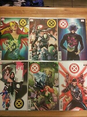 House of X #1, 3 Power of X #3 Variant Set Lot in NM+++ Rare Xmen issues