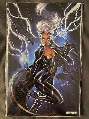 House Of X #5 Glow-In-The-Dark Variant By J. Scott Campbell Nycc 2019!! Nm!!
