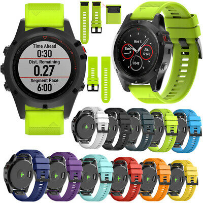 Quick New Silicone Strap Band Soft Wrist For Garmin Fenix Watch Release Sports