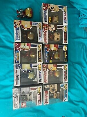 Iron Man Funko Pop Lot Rare Tony Stark Endgame Marvel