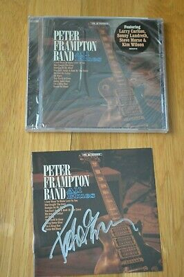 "Peter Frampton Band Autographed "" All Blues "" CD with COA ~ 2019"